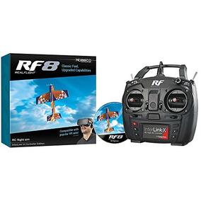 Great Planes Realflight Rf -8 Rc Rádio Controle Vôo Simula
