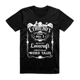 Camiseta Jack Daniels Cthulu
