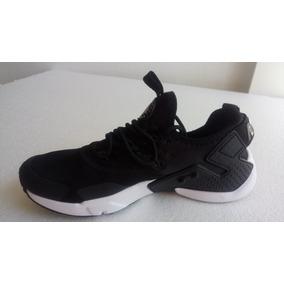 Tenis Nike Huarache ! Negro / Blanco Único Par
