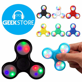 Fidget Spinner Con Luces Led Juguete Al Por Mayor 12 O Mas