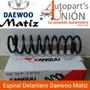 Espiral Delantero De Daewoo Matiz