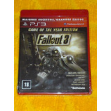 Fallout 3 Game Of The Year Edition Nuevo Fisico Sellado Ps3