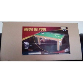 Mesa De Pool Grande Jeidy Toys Original Oferta