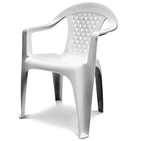 Cadeira Dolfin Bistro Vanny Branca 2 Peças