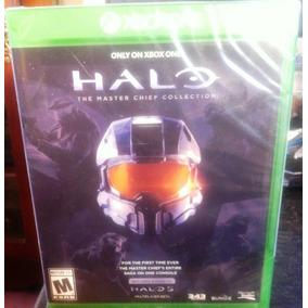 Xbox One Halo The Master Chief Collection Cellado Nuevo. 60