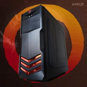 Computador Gamer Pc Cpu Ryzen Quad Core 3.7 Radeon V 8gb Ram