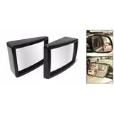 Espejo Rectangular Convexo Auto Adhesivo 5.5 X 3.5cm X Par