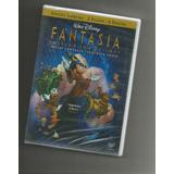 Disney Fantasia + Fantasia 2000 Dvd Duplo Lacrado