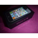Caja De Iphone 3gs Black/negro 8gb Completo Con Sacachip,etc