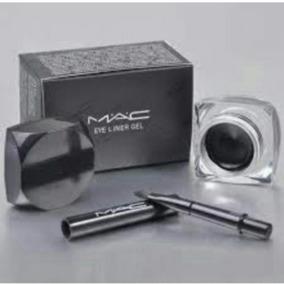 Delineador Gel Mac Com Pincel + Brinde. Pronta Entrega.