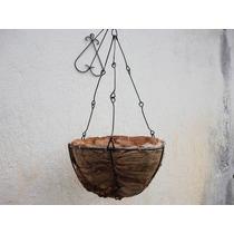 Xaxim De Coco Da Bahia (vaso Medio) ``nao Acumula Agua´´