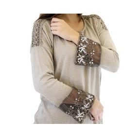168a9ad4c3 Blusa Camisa Indumentaria Mujer Verano Dama Lentejuela