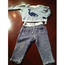 Pantalon Y Sudadera De Bebe Zara