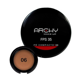 Pó Compacto Archy Make Up Fps 35 N°6 1un.
