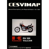 Manual De Taller Kawasaki En 500 Vulcan (pdf)