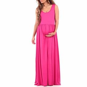 Vestidos Largos Fiesta Maternidad Modernos Embarazo Moda