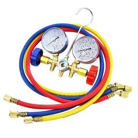 Manometro Aire Acondicionado R12, R22, R502, R134 Hvac