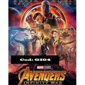Poster Vingadores Guerra Infinita - A Prova D