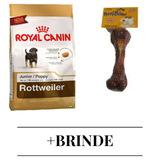 Ração Royal Canin Rottweiler Junior Cães 12kg + Brinde