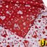 Coração Vermelho e Branco
