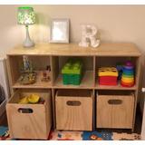 Organizador Con Cajas Moviles Montessori