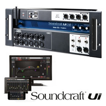 Mesa Som Digital Soundcraft Ui16 Wifi Wireless 16 Canais