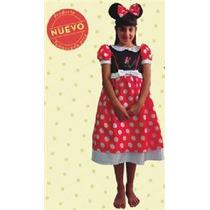 Disfraz Minnie Ratona Mickey Licencia New Toys Local Oferta
