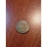 Moneda De 1 Centavo De Dolar 1962