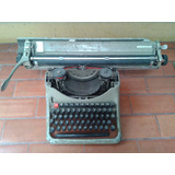 Maquina De Escribir Olivetti-carro Largo Funcionando.