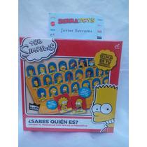Juego De Mesa Los Simpsons ¿sabes Quién Es ?