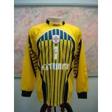 Camisa Futebol Portuguesa Santos Sp Goleiro Lotto Jogo 1531 1ea184f5e14ae