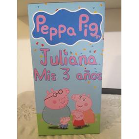 ee484dd6b Peppa Pig Amigurumi - Souvenirs para Cumpleaños Infantiles Bolsitas ...