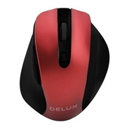 Mouse Inalámbrico Ergonómico Delux M517gx 800~1600dpi 6 Keys