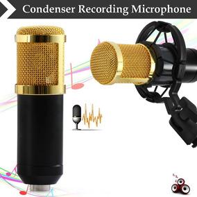 Microfone D Gravação Som Condensador Bm-800 Pronta Entrega