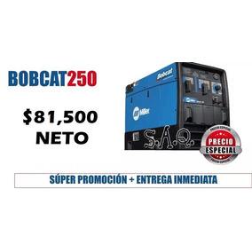 Soldadora Miller Maquina Gasolina Bobcat 250 Planta Infra