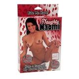 Muñeca Inflable Sexual Morena Naughty Naomi Anal Oral