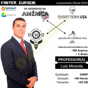 Pacote 4 Cursos Luís Miranda (+r$ 6.000,00 Por R$ 11,99)