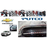 Deflector De Ventana Teja Cromada Chevrolet Silverado