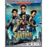 Black Panther Pantera Negra Blu-ray Nuevo Original Importado