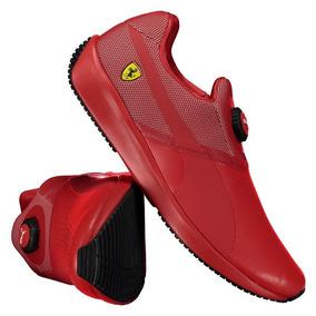 Tênis Puma Scuderia Ferrari Disc Vermelho