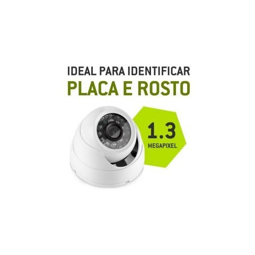 Camera Ahd-m Dome Resolu??o Hd 1.3mp 720p Ir Cftv Fc Nova