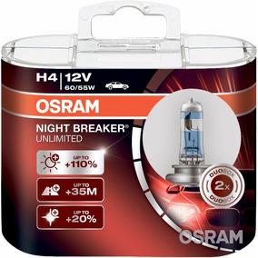 Bombillos Osram H4 Night Breaker Unlimited 12v 60/55w