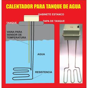 Calentador Resistencia 3kw P/ Tanque De Agua.anticongelante