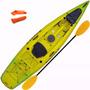 Edicion Limitada Kayak Rocker Wave Combinado + Remo + Silb +