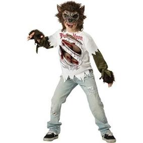 Disfraz Traje De Los Niños Del Hombre Lobo