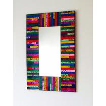 Espejo Rectangular 40x60 Excelente Calidad Diseño Deco Hogar