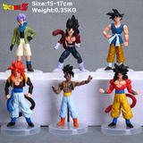 Muñecos Dragon Ball Z Sets X 6 Muñecos - Goku/vegeta/piccolo