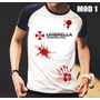 Camisa/camiseta Raglan Resident Evil Umbrella Corporation