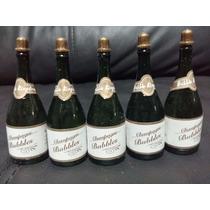 10 Lanza Burbujas Botella Champaña Boda Evento