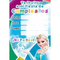 Tarjetas De Invitaciones (fiestas Infantiles)